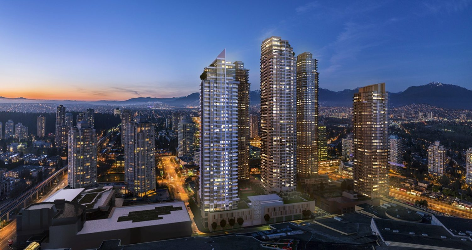 surveying for high rise development burnaby